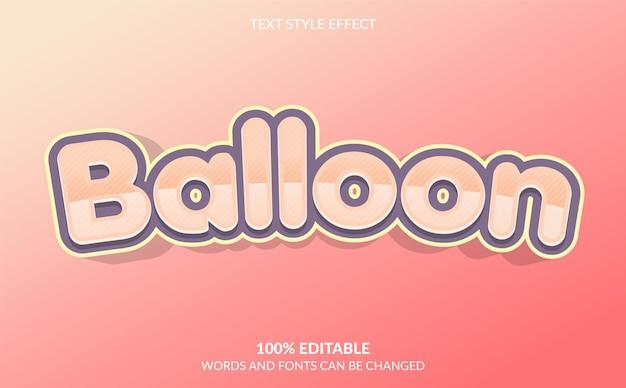 Effekt im ballontext-stil