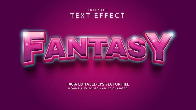 Effekt im fantasy-textstil