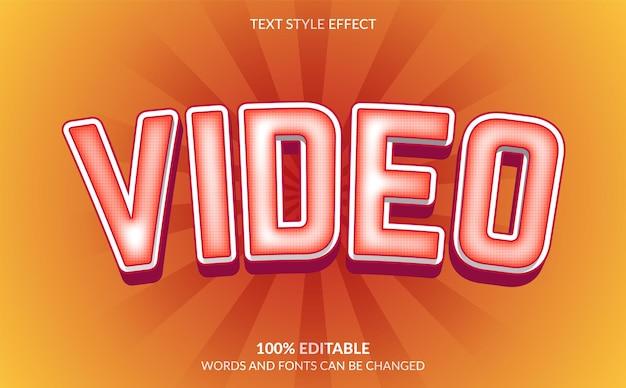 Effekt im videotextstil
