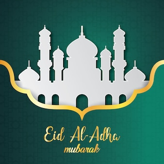 Eid al-adha hintergrunddesign