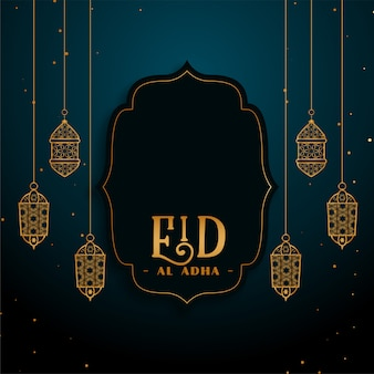 Eid al adha islamischer festivalfeiertag