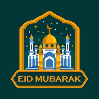 Eid mubarak moschee