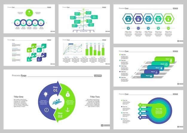 Eight recruitment slide vorlagen set