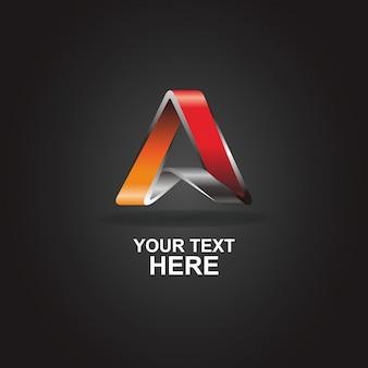 Ein abstraktes logo
