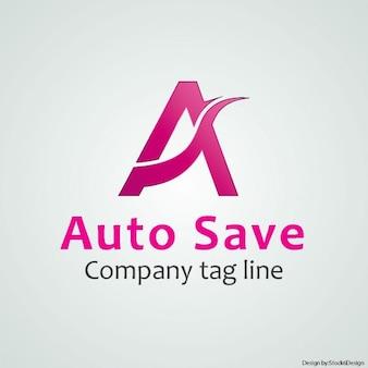 Ein brief logo Kostenlosen Vektoren