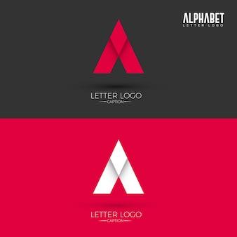 Ein brief origami style logo