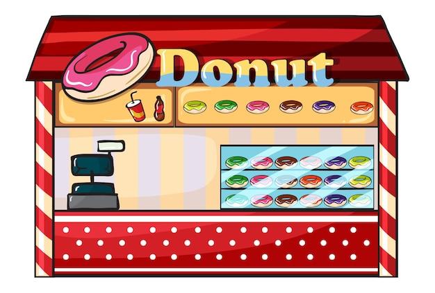Ein donut-laden