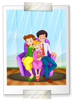 Ein familienbild
