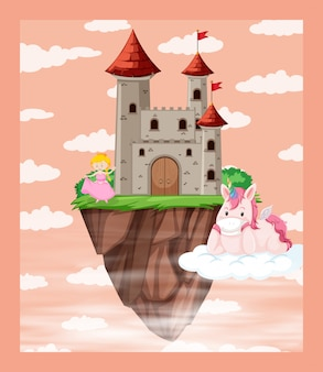 Ein fantasy-märchen