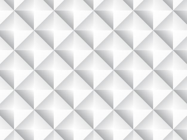 Ein geometrischer weißer und grauer hintergrund