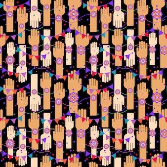 Ein grafischer vektordesign für ein indisches festival