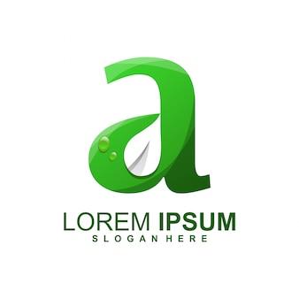 Ein logo blättern