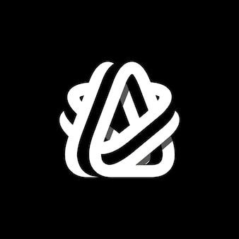 Ein logo-buchstaben-zeichen-logo