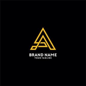 Ein monogramm-logo