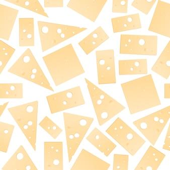 Ein muster von käse.