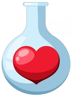 Ein reagenzglas für die chemie