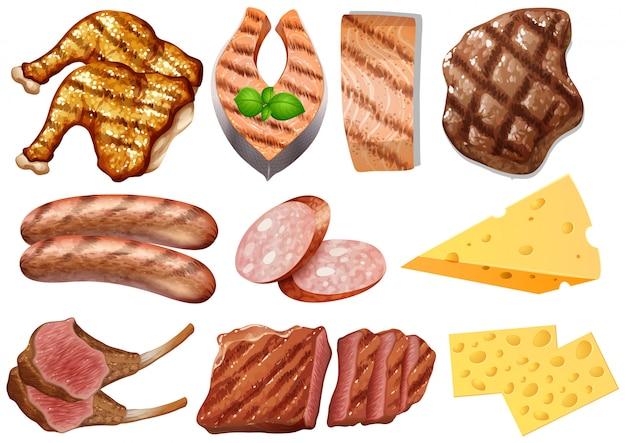Ein satz protein-nahrung