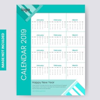 Ein seitenkalender 2019