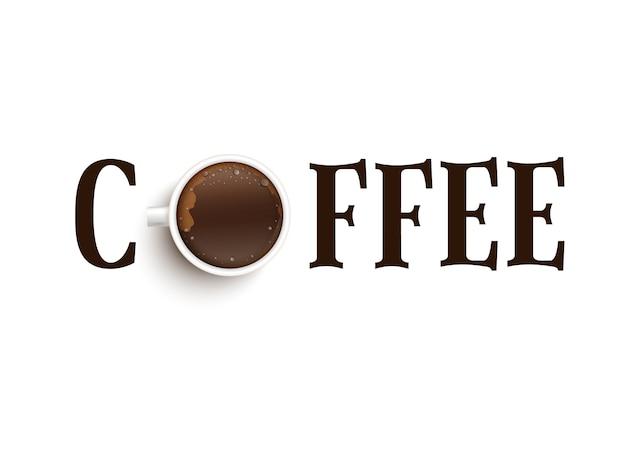 Ein termin mit einer tasse kaffee