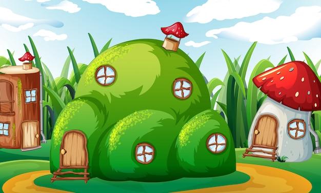 Ein verzaubertes zauberhaus