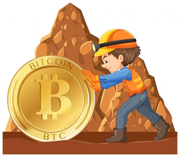 Ein worker mining cyber coin