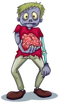 Ein zombie-charakter