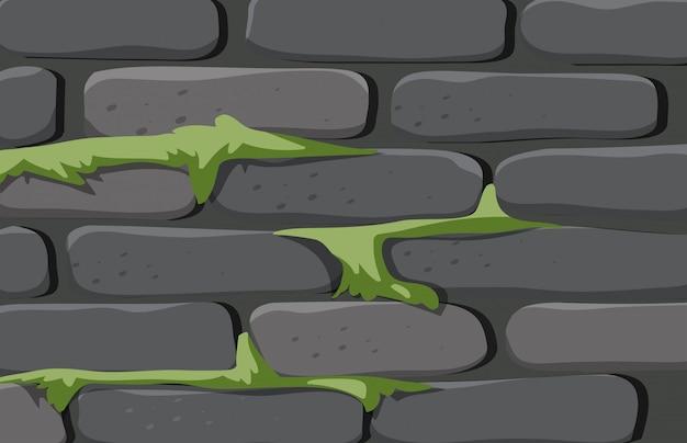 Eine backsteinmauerbeschaffenheit