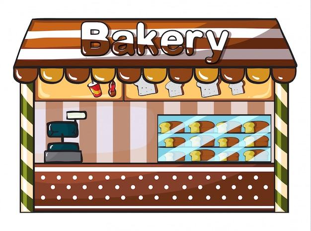 Eine bäckerei