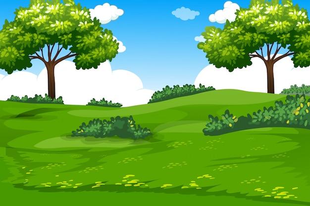 Eine natürliche grüne vorlage