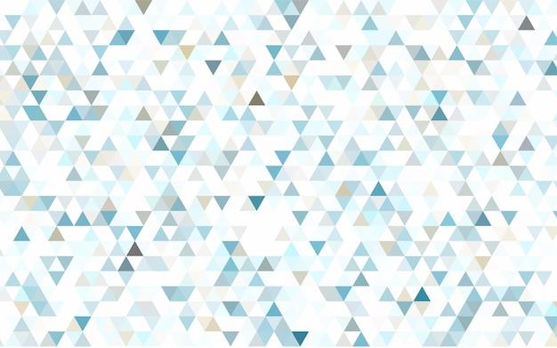 Eine probe mit polygonalen formen