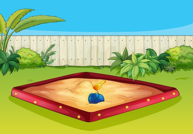 Eine sandbox