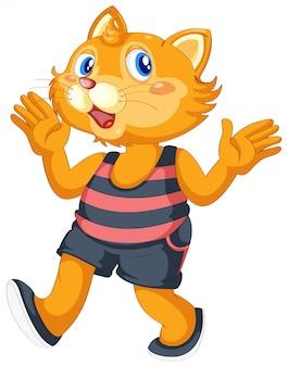 Eine süße katze charakter
