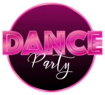 Eine Tanzparty-Ikone