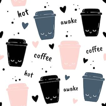Eine tasse kaffee.