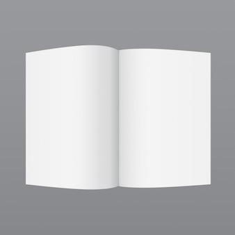 Einfache broschüre vorlage