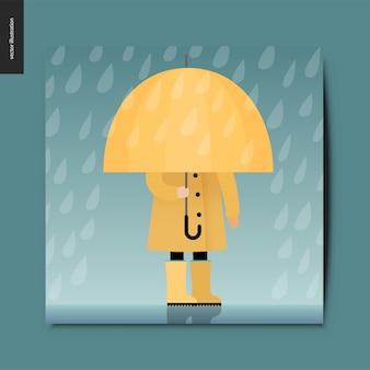 Einfache dinge - regenschirm