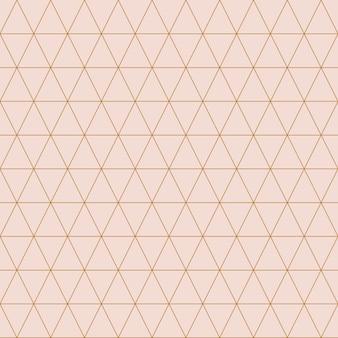 Einfache dreieckige mustervektorillustration