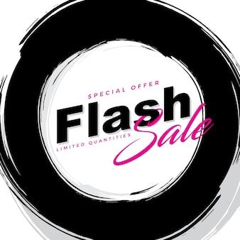 Einfache flash-verkaufsbanner