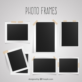 Einfache fotorahmen pack