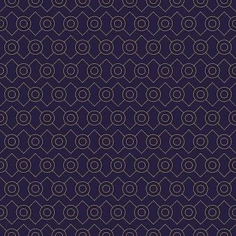 Einfache geometrische nahtlose musterhintergrundtapete des luxus