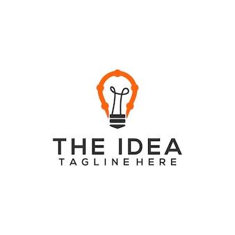 Einfache idee logo-vorlage