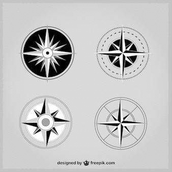 Einfachen kompass pack