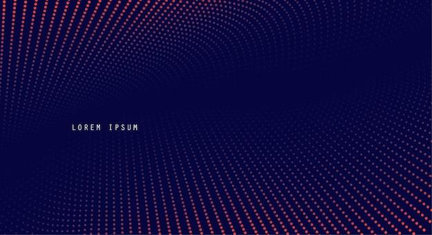 Einfacher abstrakter hintergrundhalbtoneffekt. minimales punkte-design