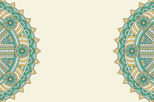 Einfacher hintergrund mit geometrischen elementen