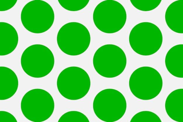 Einfacher musterhintergrund, tupfen im grünen und grauen vektor