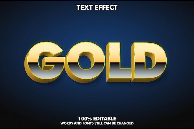 Einfacher mutiger effekt des textes 3d