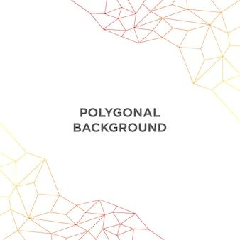 Einfacher polygonaler hintergrund