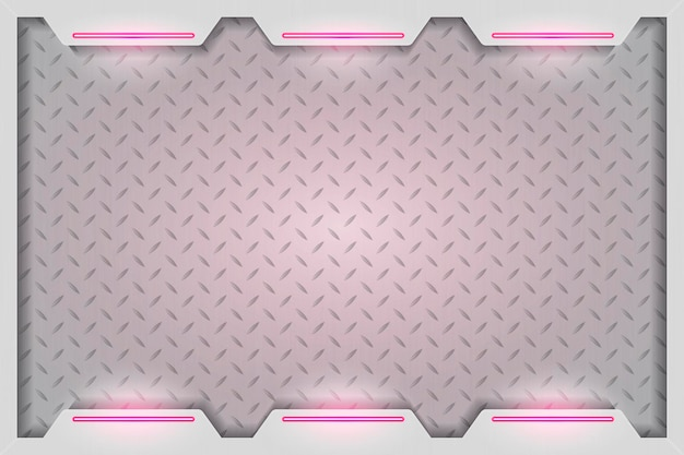 Einfacher rosa technologiehintergrund