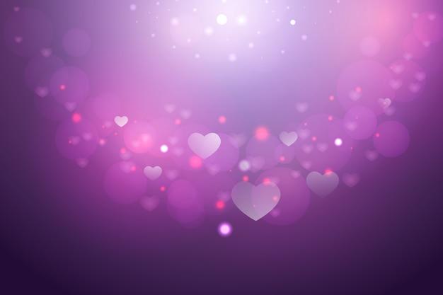 Einfacher valentinstaghintergrund