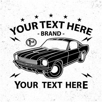 Einfaches altes autodesign